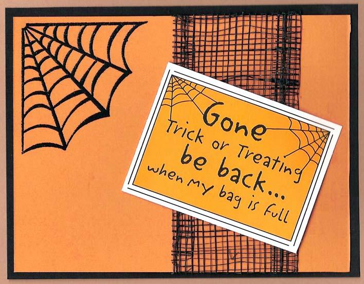 Halloween Cards To Make Ideas Part - 20: Handmade Halloween Card, Halloween Photo Cards, Days Until Halloween