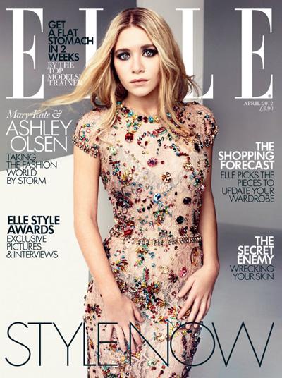 Olsen Twins Cover Elle UK Magazine