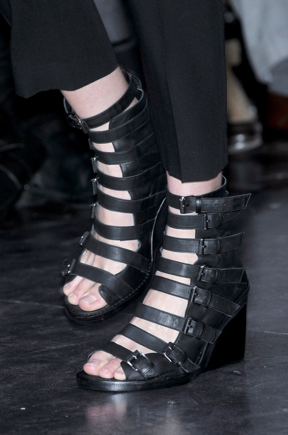 Ann Demeulemeester shoes from Spring/Summer 2010