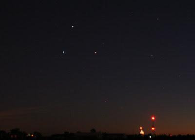 mars saturn spica triangle