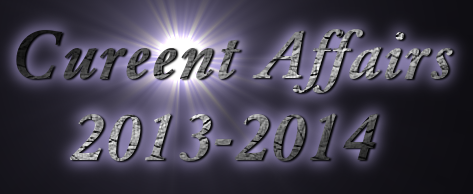Current Affairs December Question and Answers 2013