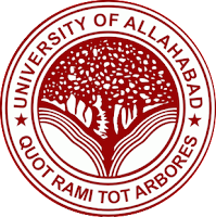 Allahabad University, UoA, Uttar Pradesh, Post Graduation, P.hd, Professor, University, freejobalert, Latest Jobs, Sarkari Naukri, allahabad university logo
