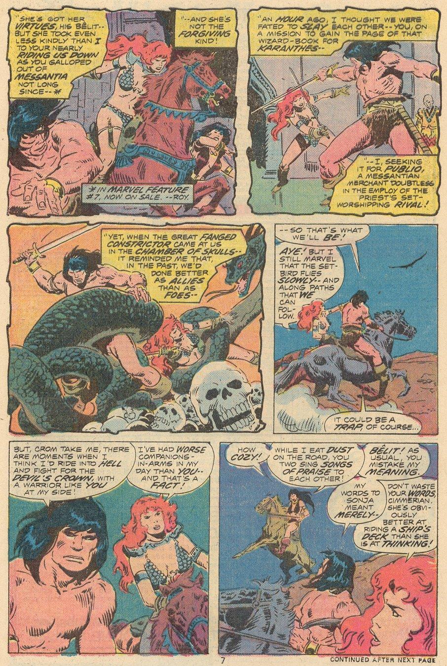 Conan the Barbarian (1970) Issue #68 #80 - English 6
