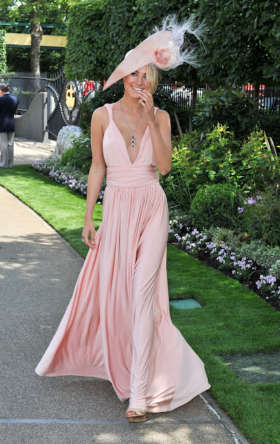 Television Personality, Actress @ Kimberley Garner - Royal Ascot 'Ladies Day' in Berkshire, England
