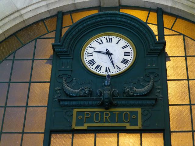Reloj de la Estación de Sao Bento