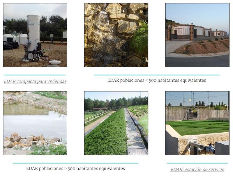 EDAR (estaciones depuradoras de aguas residuales) Tradesur - Galería