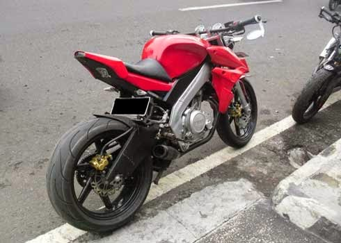 Gambar Modifikasi Motor Streetfighter