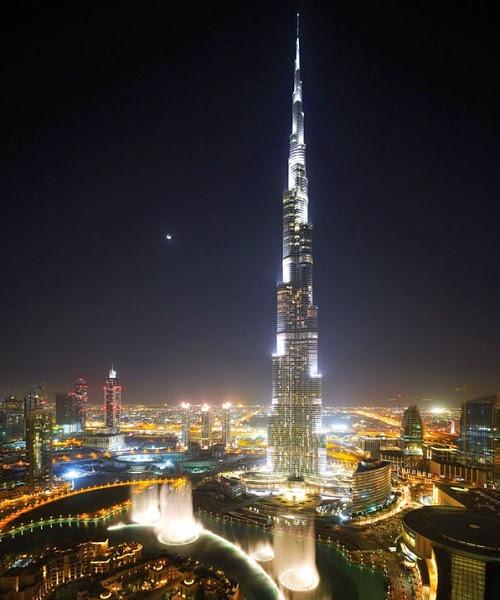 Burj Khalifa, el edificio más alto