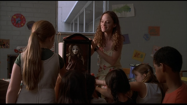 MAY (2002): May (Angela Bettis) introduces the kids to Suzy
