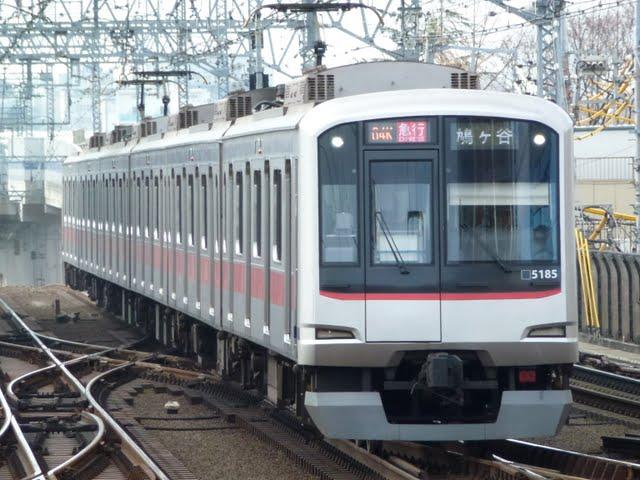 東京メトロ南北線 急行 鳩ケ谷行き4 東急5080系