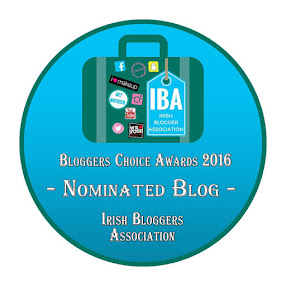 Irish Blogger Assocation Nominee 2016
