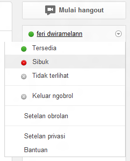 google plus on off chat