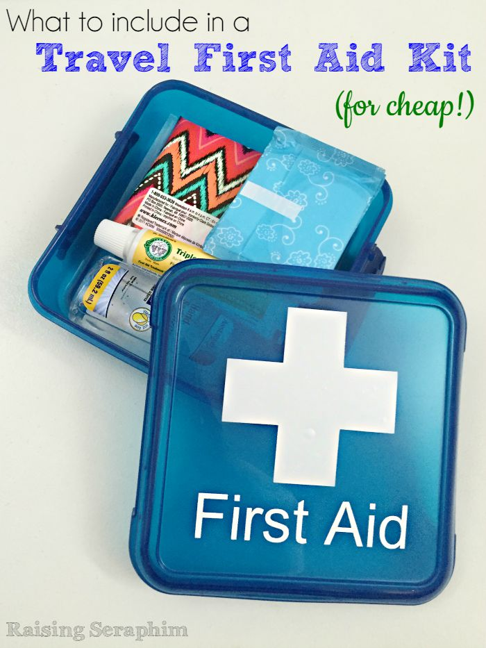 What to include in a travel first aid kit with printable. Must have and cheap!