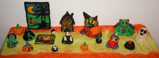Juise Homemade Baking Clay With A Halloween Twist And