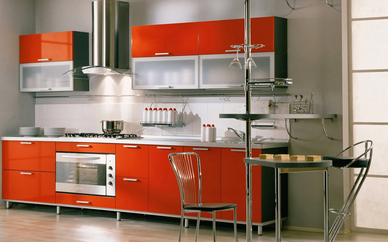 Modern Kitchen Interior Design Ideas Modern Decor Home Decoration - Fitted kitchen design ideas