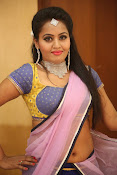 Neetha sizzling photo shoot in half saree-thumbnail-3