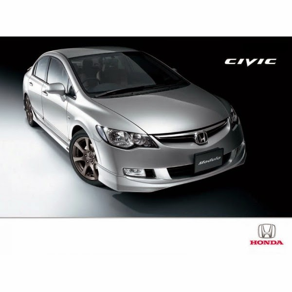 Body Kit Honda Civic FD 2006-2009 Modulo