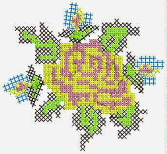 hoë kwaliteit borduurwerk appliekwerk ontwerp