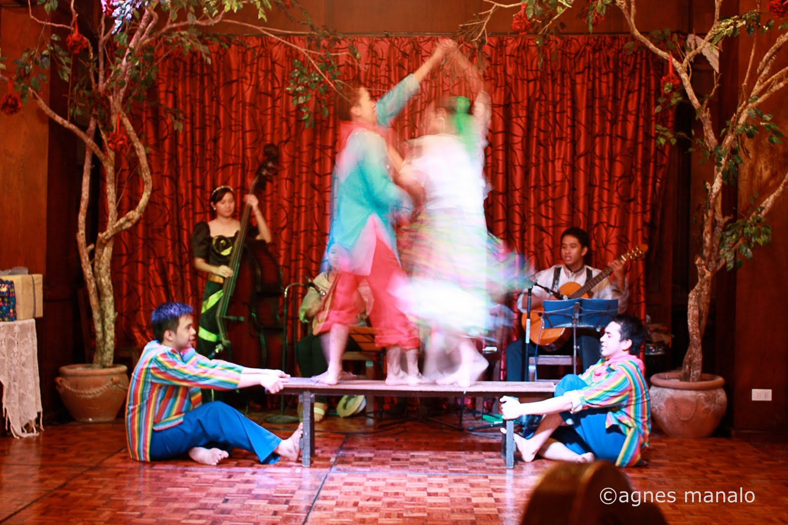 "Sayaw sa Bangko - (""dance on a bench"") is a folk dance from the"