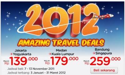 Tiket Promo Air Asia 2012