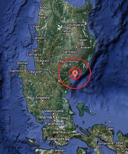 luzon, philippines earthquake 2013 April 04