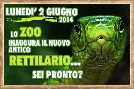 """Il nuovo """"Antico Rettilario"""" dello Zoo di Napoli"""