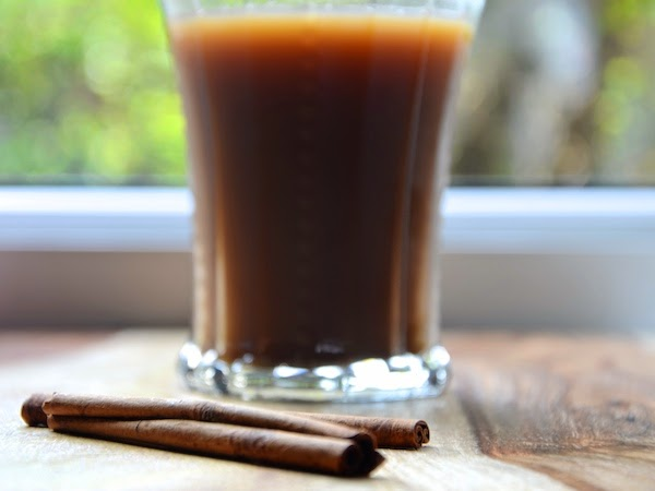 cinnamon brown sugar iced coffee