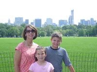 Central Park family