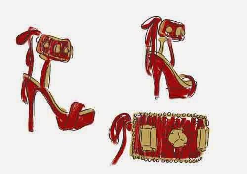 dibujos zapatos Sara Navarro