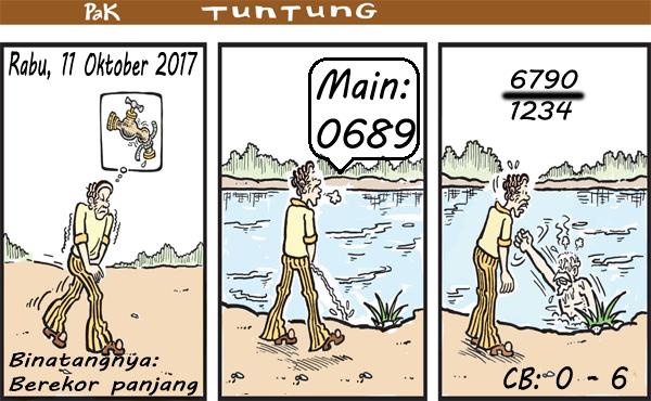 Prediksi gambar Pak Tuntung Rabu 11 10 2017