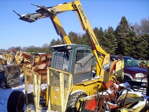 Gehl 5240 skid steer parts