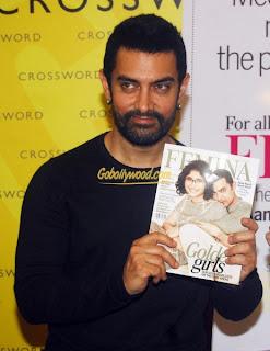 Aamir khan ve kiran rao femina kitap tanıtımında