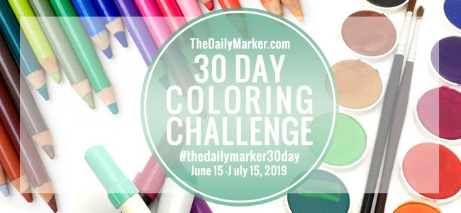 ♥ The 30 Day Coloring Challenge ♥