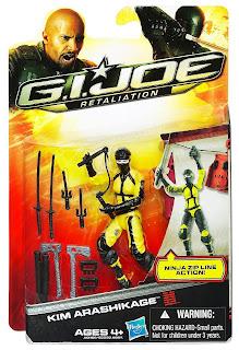 Hasbro GI Joe Retaliation Kim Arashikage (Jinx) Figure