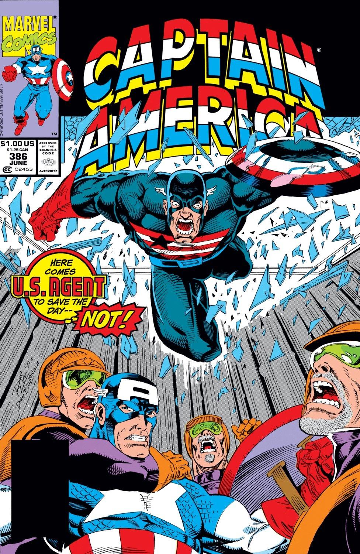 Captain America (1968) Issue #386 #319 - English 1