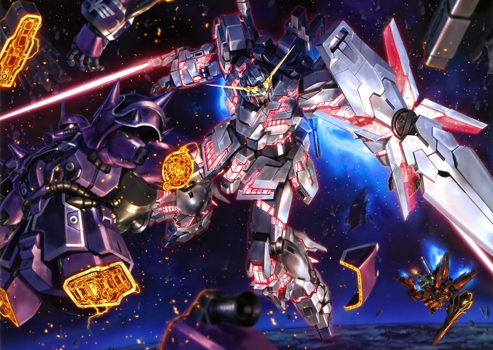 ReefTV: Anime Review : Mobile Suit Gundam Unicorn