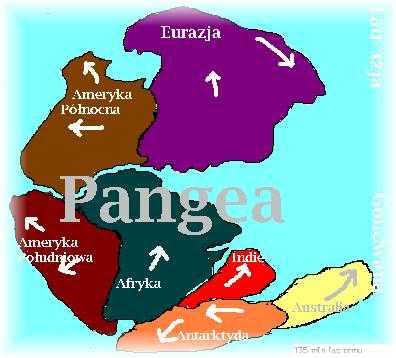 Dialah Sang Nenek Moyang Benua : Pangea