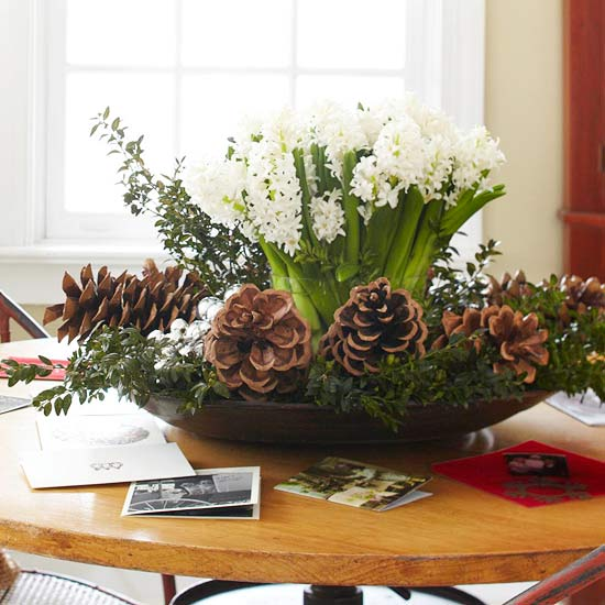 Simple Christmas Centerpiece Decorations : Ideas for christmas centerpieces easy to do