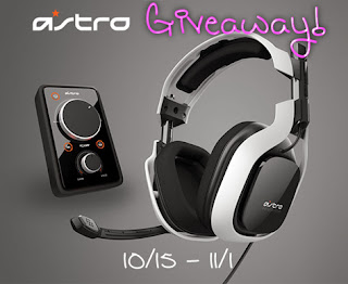 Enter the Astro A40 Audio System Giveaway. Ends 11/1. US/CAN