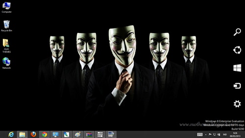Anonymous Theme For Windows 7 And 8