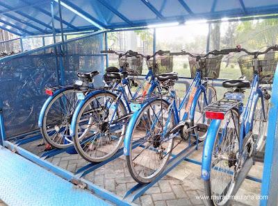 Sepeda Gratis di Kampus UGM
