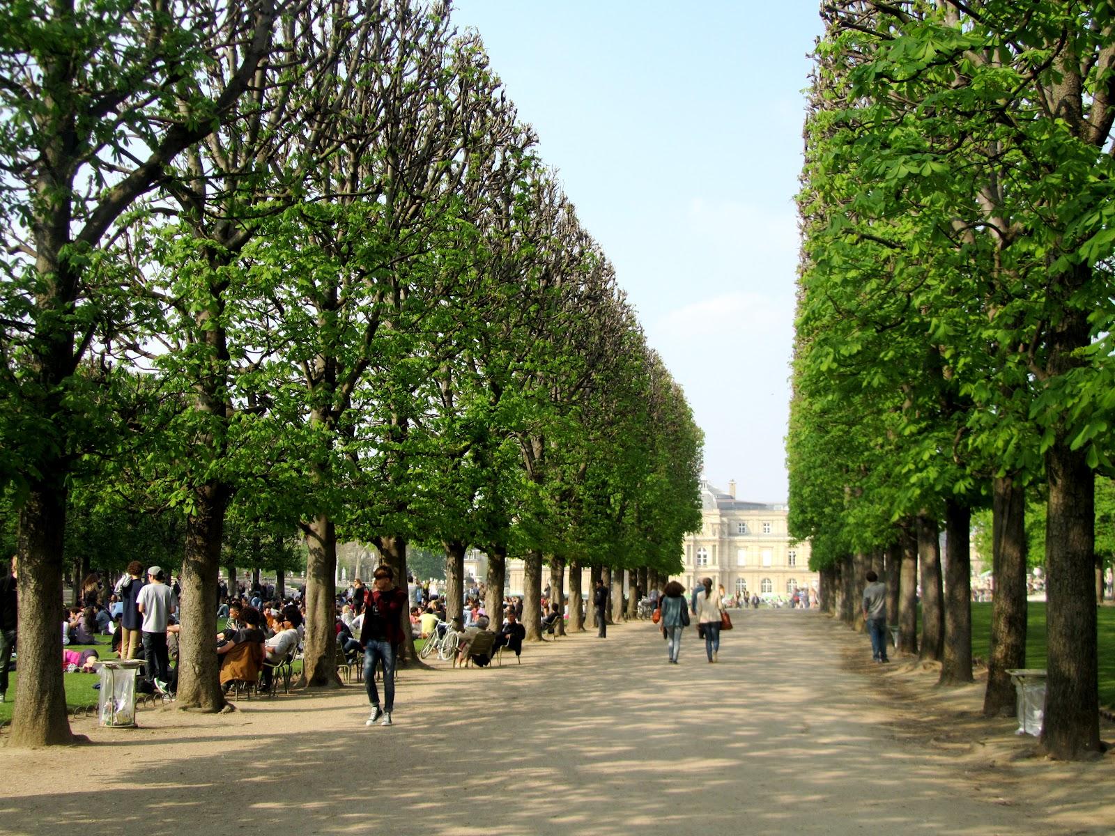 The lights in paris les lumi res dans paris le jardin du for Le jardin luxembourg