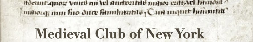 The Medieval Club of New York