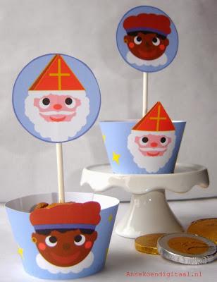 Sinterklaas traktatie Annekoendigitaal
