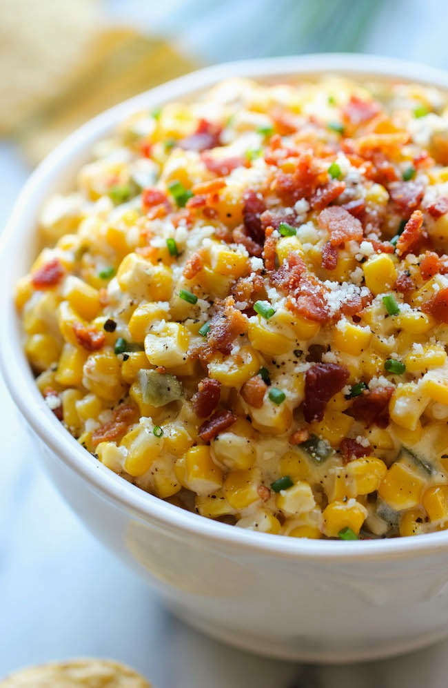 Bacon Jalapeno Corn Dip
