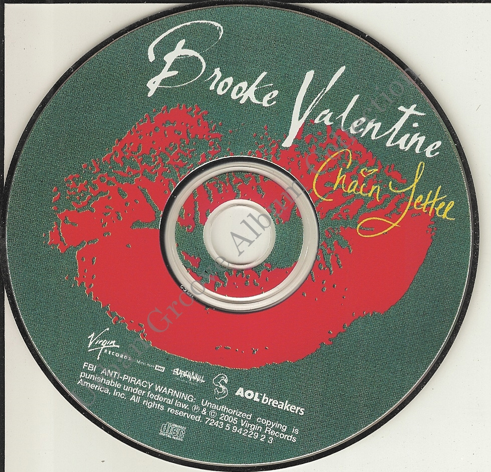 Brooke Valentine  Chain Letter 2005 RB Female  Urban Groove