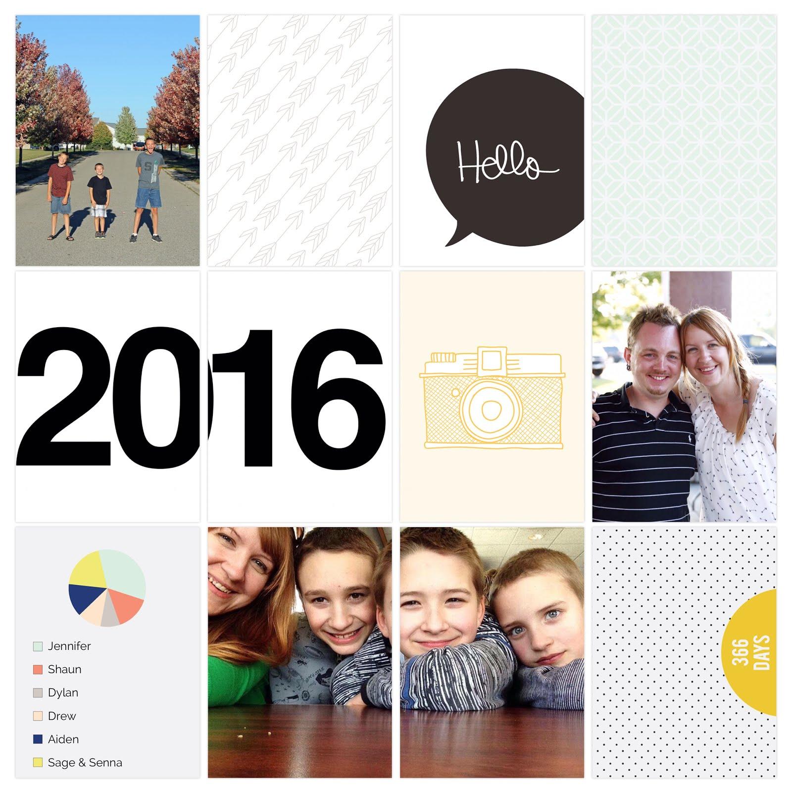 2016 Project Life Album