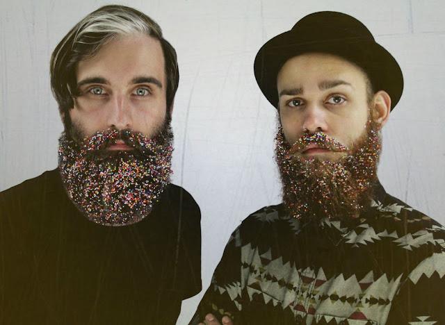 glitterbeard, como usar barba masculina