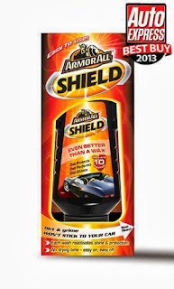 Armor All Shield Wax For Car Van Motorbike Boat Armorall Liquid Wax NEW 500ml