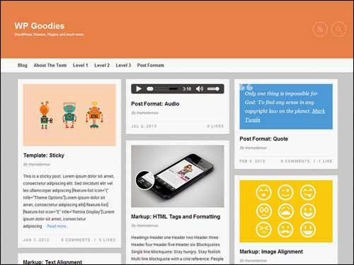 Gridz Free WordPress Theme